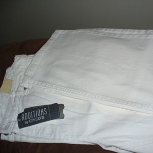 White Jeans Additions by Chico's Size 2 Short NWT